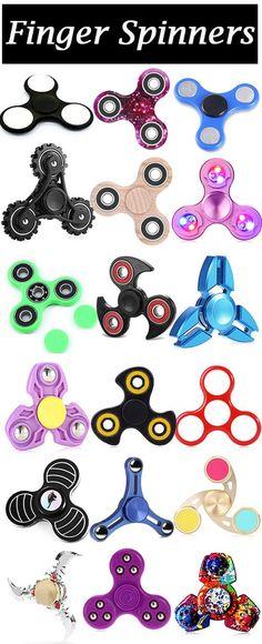 Color Changing LED Lights Focus Toy Fidget Finger Spinner