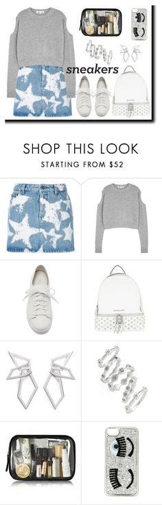 """""""Untitled #878"""" by m-jelic ❤ liked on Polyvore featuring Givenchy, McQ by Alexander McQueen, Santoni, MICHAEL Michael Kors, W. Britt, Luv Aj and Chiara Ferragni"""