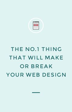 The no.1 thing that will make or break your web design: your website photos. Click through to find out more and read more website tips!