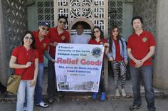 USC Campus Lions Club (Philippines) | Lions provided relief to typhoon victims #lionsrelief