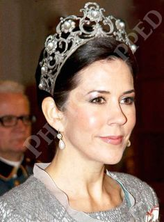 Crown Princess Mary of Denmark in the Musy Tiara