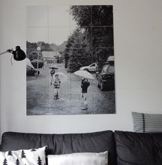 Rainy days. #IXXI days. For more inspiration, see: http://www.ixxidesign.com/blog #IXXI #ixxidesign #blackandwhite #inspiration #home #interior #livingroom #walldecoration