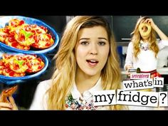 MINI PIZZAS with MeghanRosette - What's In My Fridge? - YouTube