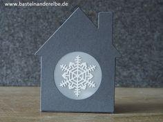 Lichthaus aus Papier selbermachen mit Stampin` Up! Produkten - YouTube