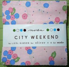 City Weekend by Leisl Gibson for MODA by oneygirl on Etsy
