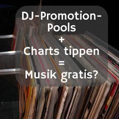 """Willst du Musik gratis bekommen? Ich nicht! Meine Erfahrungen mit """"DJ-Promotion-Pools"""" und wie die DJ-Bemusterung mit den Charts zusammenhängt."""