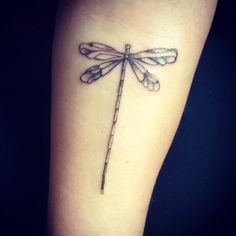 Dragon fly tattoo by the guild