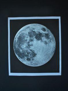 Moon Print on Etsy