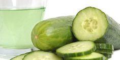 Le jus de concombre peut être utiliser pour combattre les imperfections de la peau.