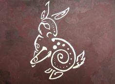 sketch bunny
