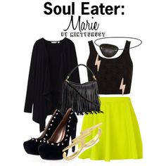 """""""Soul Eater: Marie"""" by mintyghost on Polyvore"""