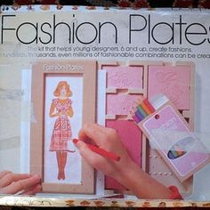 Fashion Plates | 35 Awesome Toys Every '80s Girl Wanted For Christmas