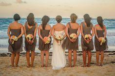 Romance at Paradisus Punta Cana. #Wedding #Romance #Beach #BeachWedding #Summer #SummerWedding #Bride #BridalParty