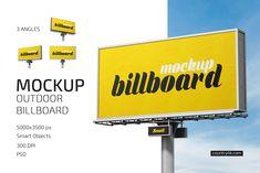 Outdoor Billboard Mockup Set on Behance