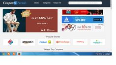 Now Find & Get The apply Latest Coupon Code Running On India ' S No 1Online Shopping Websites Like +Flipkart +Amazon India +Netmeds & save Your Money #shopmoresavemore With +Coupon Trends India's Maximum Store #Coupon