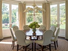 dining chairs -- LUCY WILLIAMS INTERIORS BLOG-PHOEBE HOWARD