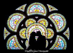 Wedding photography, bride, silhouette, beautiful, creative