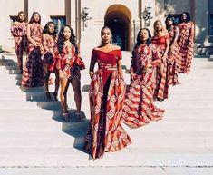 This item is unavailable Wedding dress/bridal train/asoebi/shower/African print dress/dashiki print/women fashion/ankara dres African Fashion Designers, African Fashion Ankara, African Print Dresses, African Print Fashion, African Dress, Ankara Dress, African Bridesmaid Dresses, Africa Fashion, African Print Wedding Dress