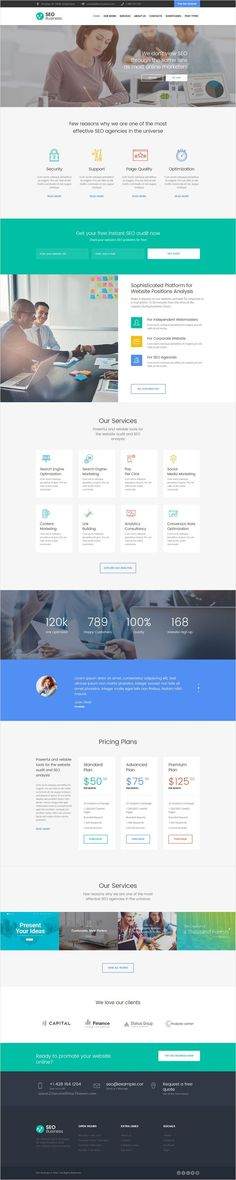 SEO Business is a #Marketing #WP #Theme that is specially created for #SEO and marketing agencies, SMM and SEO specialists, copywriters and online marketing professionals website download now➩ https://themeforest.net/item/seo-business-seo-social-media-marketing-wordpress-theme/17623703?ref=Datasata