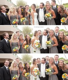 love this whole bridal party's look - Marry Jordan Photography