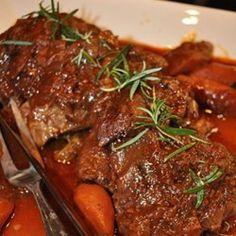 Texas Recipes -- Roasted Wild Boar
