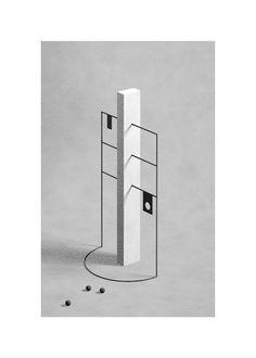 Monolith, 2015 Fabrice Le Nezet @fabricelenezet  for #composition #form