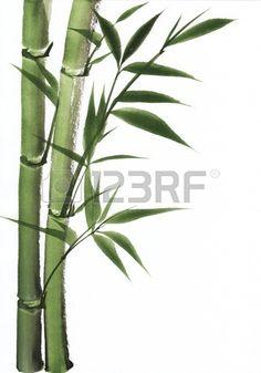 Original art, watercolor painting of bamboo, Asian style painting. Free art print of Watercolor painting of bamboo. Painted Bamboo, Bamboo Art, Free Art Prints, Canvas Art Prints, Easy Paintings, Watercolor Paintings, Watercolours, Bamboo Drawing, Bamboo Tattoo