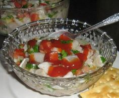 Receta de ceviche de pescado. Un plato fácil de preparar, aunque no por ello menos rico.