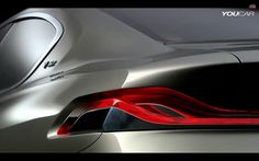 BMW and Pininfarina team up for one-off Gran Lusso Coupé - Auto Balla Bmw Design, Exterior Rendering, Benz S Class, New Mercedes, Car Sketch, Car Videos, Transportation Design, Car Lights, Automotive Design