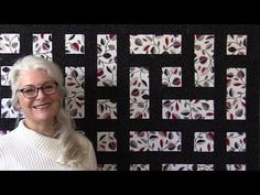 This quilt is a quick and easy quilt. Big pieces and a few partial seams make it look very complicated...but it is not. Down load the free pattern here http:...