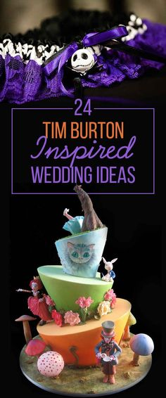 I like some of the more subtle ones for a fall/Halloween wedding | 24 Completely Bewitching Tim Burton Inspired Wedding Ideas