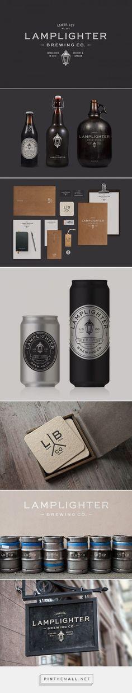 identity / Lamplighter Brewing Co. / beer: