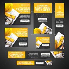 Rollup Banner Design, Web Banner Design, Display Banners, Display Ads, Graphic Design Trends, Graphic Design Posters, Google Banner, Youtube Banner Backgrounds, Digital Banner