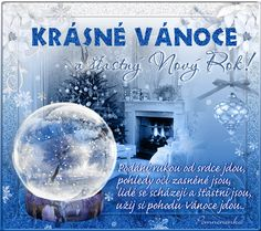 Vánoční přání - Obrázková přání Snow Globes, Merry Christmas, Santa, Motto, Decor, Merry Little Christmas, Decoration, Wish You Merry Christmas, Decorating