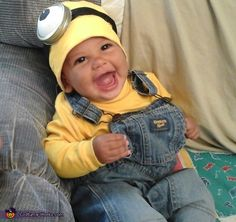 Baby Minion Costume | Baby minion costume, Costumes and Babies