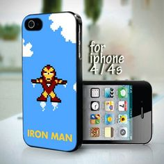 The Iron Man Walpaper design for iPhone 4 or 4s case