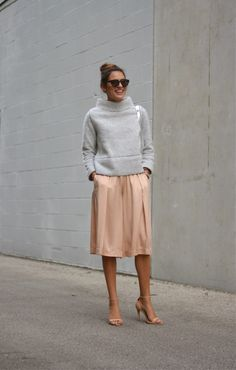 Culottes: Club Monaco // Sweater: Zara   (found thanks to Sunshades & Snowflakes  and similar here ) // Shoes: Zar...