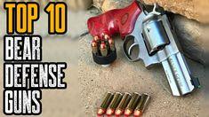 TOP 10 BEST BEAR DEFENSE GUNS (Shotguns, Handguns & Rifles) Survival Tools, Camping Survival, Outdoor Survival, Security Tools, Shotguns, Rifles, Hand Guns, Bear, Weapons