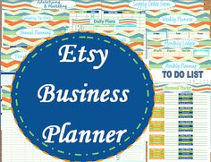 Plan out Etsy Business!