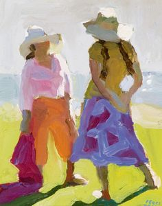 Peggi Kroll Roberts, Sunny Conversation...Did a workshop with her....