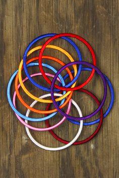 Silk Thread Bangles Set of 10