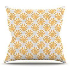 KESS InHouse Sunburst by Apple Kaur Designs Outdoor Throw Pillow