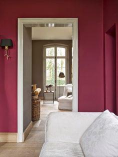 Decoração Marsala cor Pantone