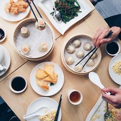 Lunch at Din Tai Fung in Melbourne. Hand-making delicious dumplings in front of diners & served piping hot.Photo:@ mericac (via IG) Australia.com