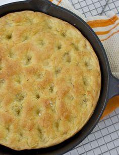 one hour rosemary focaccia bread