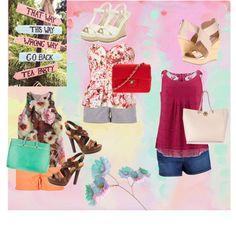 """Plus size fashion - summer shorts"" by plus-size-fashion-dwhite1 on Polyvore"