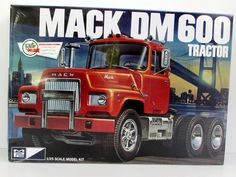 Mack DM600 Tractor AMT/MPC 819 1/25 Scale New Truck Model Kit 2015 – Shore Line Hobby