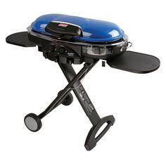 Coleman RoadTrip LXE Portable Gas Grill, Blue