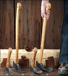 Gränsfors Adzes - Woodworking