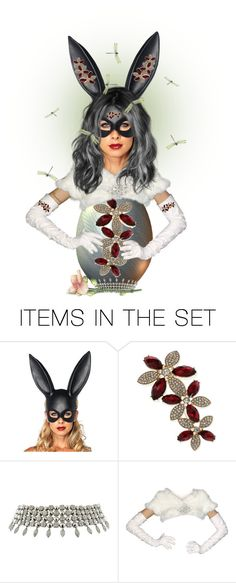 """""""Easter Bunny!"""" by ragnh-mjos ❤ liked on Polyvore featuring art"""